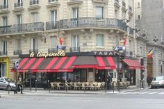 Le Campanella, Paris 7th, near the Eiffel Tower. Very friendly, great cocktails. We had drinks here before dinner right around the corner.