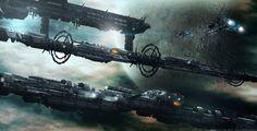 D.S.E.   Nuklear Space by MarkusVogt.deviantart.com on @DeviantArt