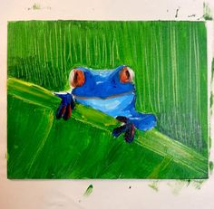 Viktoriya Samoylov: Kid's Painting Lesson - Rainforest Frog!