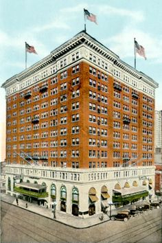 Vintage Birmingham... TUTWILER HOTEL...this is the real deal, the one we have fond memories of at Beta Club Convention.  It was imploded in January 1974.  Another gone--but not forgotten piece of the past.