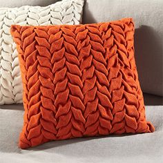 via BKLYN contessa :: wool felt pillow :: arhaus
