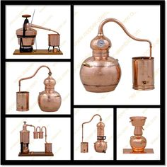 Portuguese Copper Alembic Stills & Moonshine Distillers Legal Moonshine, Moonshine Still, Whiskey Still, Grapes And Cheese, Beer Factory, Essential Oil Distiller, Copper Still, Buy Essential Oils, How To Make Oil
