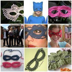 10 schemi per maschere di carnevale all'uncinetto e ai ferri