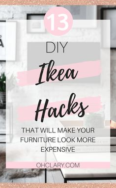 I have compiled a list of 13 of the very best DIY IKEA Hacks that anyone can do! These Ikea hacks will be sure to jazz up your furniture and leave your house looking beautiful on a very small budget.