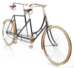 1895 Victor double-steering tandem bike.