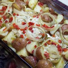 Ranch Roasted Pork Chops & Red Potatoes Recipe - ZipList.      Made it and its yummy!!