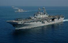 USS Boxer (LHD-4) - Wasp class Amphibious Assault Ship (USA)