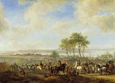 Philips Wouwerman - De paardenmarkt