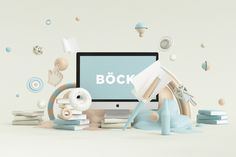 BÖCK by Peter Tarka, via Behance objects