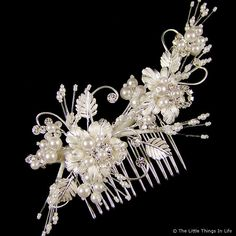 Picture 1 | Grace Wedding Hair Comb 14cm (Silver)