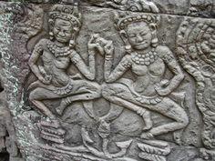 Angkor Thorn 2005, carvings
