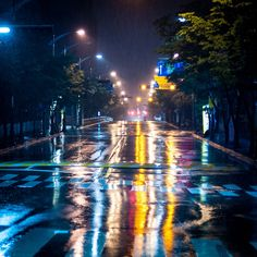 Midnight in Rainy day. by MinSuck Choi on 500px