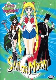 Official North American Sailor Moon Volume 13 DVD Cover with Sailor Pluto, Sailor Moon and Tuxedo Mask. Information and shopping links here http://www.moonkitty.net/reviews_sailormoonrdvds.php