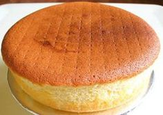 Basic sponge cake is one of my favorite types of cakes. I don't have a huge sweet tooth and plain sponge cake recipes are perfect for me. They are sweet without being too sweet. I love to eat plain sponge cake- no filling, no frosting, no powdered...
