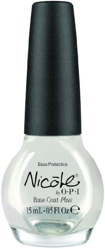Nicole by OPI Nail Treatment, Base Coat Plus, 0.5 Fluid Ounce $6.99