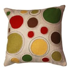 I pinned this Olivia Circle Pillow from the Cloud9 Design event at Joss and Main!