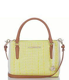 Brahmin La Scala Collection Lincoln Colorblocked Convertible CrossBody Bag #Dillards