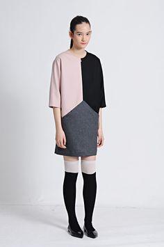 Triangular dress