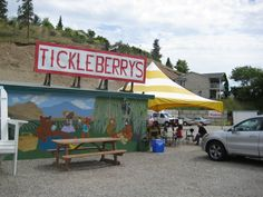 Tickleberry's Ice Cream in Okanagan Best Ice Cream, World Famous, Fabulous Foods, Travel With Kids, Four Square, Vancouver, The Good Place, Places To Go, Things To Do