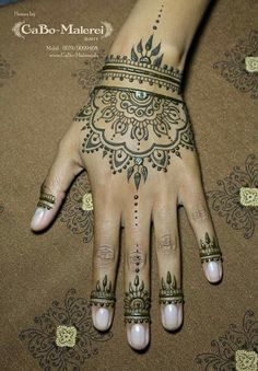 henna {tatto design inspiration}