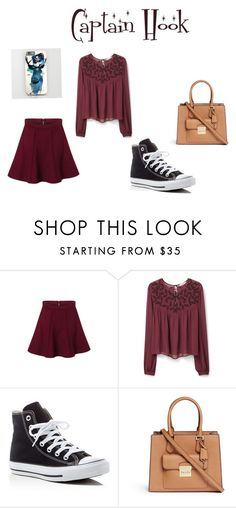 """""""captain hook"""" by rileypult on Polyvore featuring MANGO, Converse and Michael Kors"""