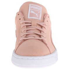 PUMA The Suede Classic Lo Winterized Women's Shoes ($65) ❤ liked on Polyvore featuring shoes, lace up shoes, traction shoes, puma shoes, cushioned shoes and puma footwear
