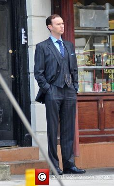 MARK GATISS... It has to be said, that man rocks any suit!
