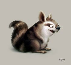 Squirrelrabbicoon by BrandonKallmes ★ Find more at http://www.pinterest.com/competing/