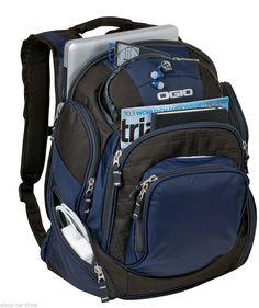 "New OGIO® Mastermind Pack 17"" Laptop / MacBook Pro Navy Backpack Work or School #OGIO #Backpack"