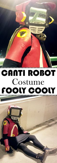 Canti from the Japanese anime series Fooly Cooly (aka FLCL).