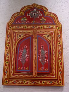 Red Zouak Wood Painted Mirror Free Shipping By Treasures Of Morocco Moroccan Mirrors http://smile.amazon.com/dp/B0075795L6/ref=cm_sw_r_pi_dp_Yg6Itb0SEE47JT9K