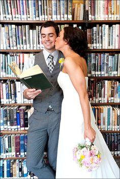 Library Theme Wedding