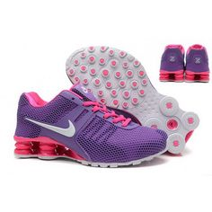 0ae73b2b5741 Nike SHOX New pattern Purple red and white - Dicount Nike Store