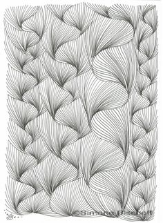 Sharpen your line (aura) drawing skills with six easy lessons from Simone Bischoff - Lesson 6: Braids