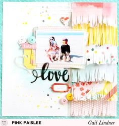 Mothers: Love My (Crazy) Tribe Layout | Pink Paislee