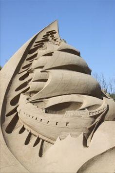 Escultura da areia por Gigi643