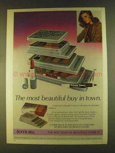 1980 Bonne Bell Colorado Colors Collection Makeup Ad