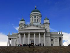 Join Me For A Tour Of Helsinki, Finland - Wandering Earl Helsinki, Finland, Taj Mahal, Cathedral, Tours, Mansions, House Styles, Building, Travel