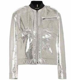 Jacke aus Metallicleder | Tom Ford