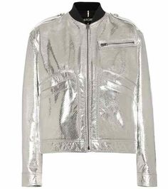 Metallic leather jacket | Tom Ford