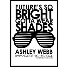 Future's so BRIGHT - 10 Creative Graduation Invitation Ideas, http://hative.com/creative-graduation-invitation-ideas/,