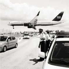 Aviones sobre la Playa