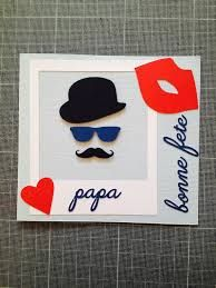"""Résultat de recherche d'images pour """"carte fete des peres"""" Masculine Cards, Kids Cards, Cardmaking, Fathers Day, Crafts For Kids, Projects To Try, Handmade Jewelry, Images, Artist"""