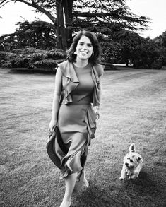 Princess Eugenie of York in Alexander McQueen Princess Eugenie Jack Brooksbank, Princess Eugenie And Beatrice, Princesa Eugenie, Princesa Diana, Windsor, Duchess Of York, Duchess Of Cambridge, Edinburgh, Prinz Philip