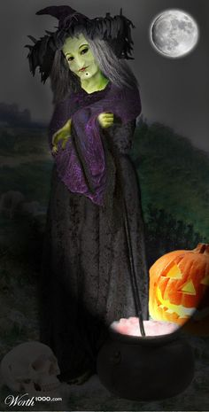 Bergere Witch - Worth1000 Contests