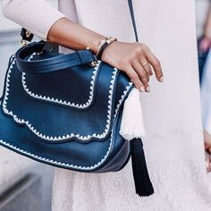 The perfect everyday bag for Spring from @ThaleBlanc. #musthave