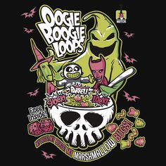 Oogie Boogie Loops - Nightmare Before Christmas Burton TeeFury - ML Mens Large Tim Burton Kunst, Tim Burton Art, Disney Love, Disney Art, Nightmare Before Christmas Shirts, Jack And Sally, Jack Skellington, Creepy, Tumblr