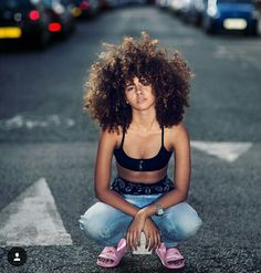 Frogirlginny on instagram is such an inspiration!!  #afro #curlyhair