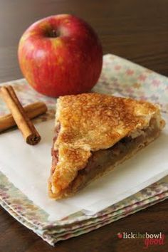 Rustic Apple Pie adapted from The Cutting Edge Of Ordinary