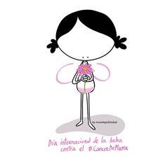 Para tí, luchadora. Voy contigo... Vamos juntas. Eeeegunon mundo!! ::: Día internacional de la lucha contra el #CancerDeMama